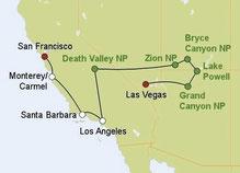 Mietwagenreise Südwesten USA