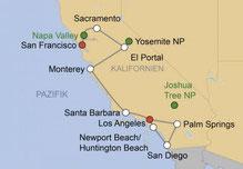 Mietwagenrundreise Kalifornien