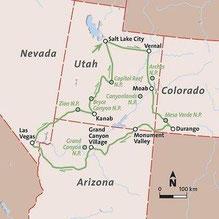 Mietwagenrundreise Utah und Arizona