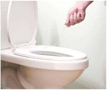 Attention a ne pas rayer un wc avec votre cintre