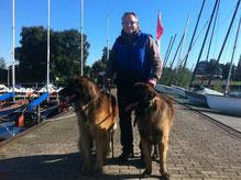 Hundtrainer Günter Ostermeier