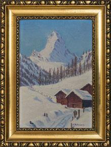 Nr. 2667 ob Zermatt mit Matterhorn