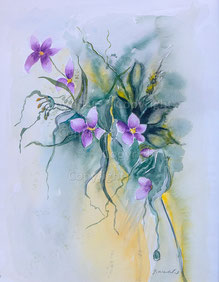 Nr.2205  Blumenkomposition