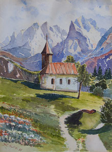 Nr. 690 St. Antonius Kapelle bei Ellmau am Wilden Kaiser