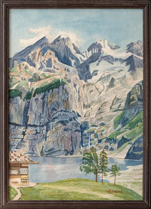 Nr. 3571 Am Oeschinensee
