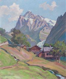 Nr. 1302  Wetterhorn Grindelwald