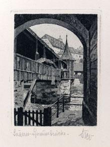 Nr. 2560 Spreuerbrücke Luzern