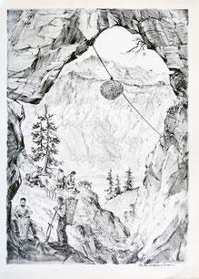 Nr. 1244 Alpbauern/ Sennen