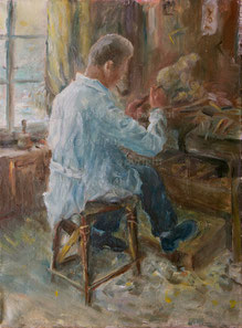 Nr. 1317 Der Holzschnitzer