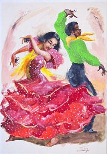 Nr.564 Flamencotänzer