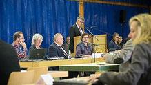 Beim Kreistag in Groß-Felda kamen vielfältige Themen zur Sprache.