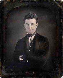 Augustus Washington, John Brown vers 1846, Daguerréotype.