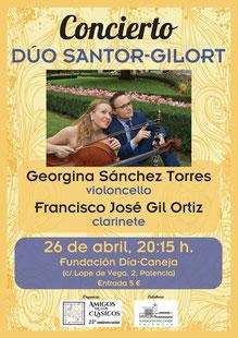 Cartel. Palencia 26-4-19