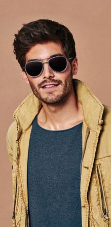 Mann mit Imago Sonnenbrille