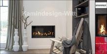Gas-Kamin Architekturkamin 40x80