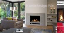 Klassik Kamin Gas-Kamin-65x100
