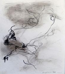 1.11.13 2013 40 x 35 cm Mischtechnik / Papier