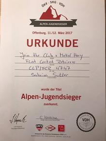VDH-Alpen-Jugendsieger