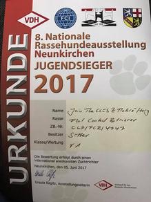 Jugendsieger Neunkirchen 2017