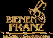 Logo BienenFranz Imkereifachhandel und Hofladen mit Biene