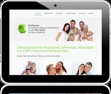 Zur Praxis-Website von Zahnarzt Ralf Meyrahn, Garmisch-Partenkirchen
