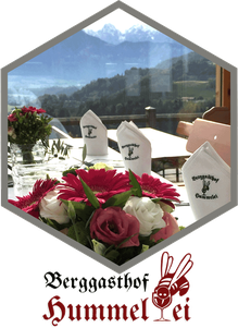 Restaurant in Oberaudorf, der Berggasthof Hummelei 660 m