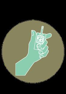 icone diabète type 1