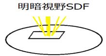 明暗視野SDF