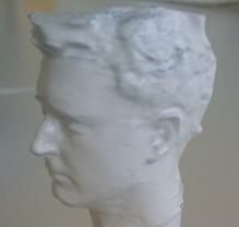 Figurkopf aus Digitalfotos