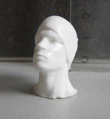 Figur aus 3D Modell - Höhe 25mm