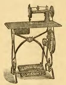 1884  Davis Treadle - Model 2VF Head