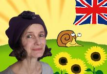 l'auteur, Joanna Le May, des méthods d'apprentissage d'anglais pour les enfants;