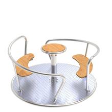 Spielgeräte-Robinie-Schaukel-zweiplatzschaukel-Nestschaukel-Schaukelgestell-Schaukel-mit-Überstand-Doppelschaukel