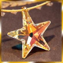 Gold Stern für den Frieden