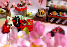 コンコンブル お花見 春