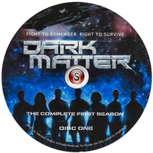 Dark Matter Cover DVD 1