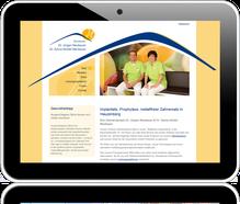 Homepage der Zahnarztpraxis Neubauer in Hauzenberg