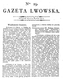 Cyrkul Jasielski // Gazeta Lwowska