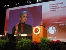 ASH 2011 LMC Docteur Junia V Melo leucemie guerison cancer traitement espoir lmc leucémie myéloïde chronique leucemie aigue sang moelle greffe