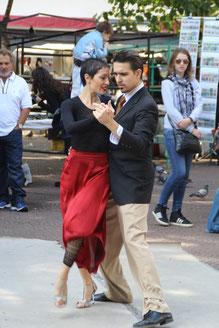 Tango sur la place Durrago