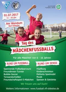 Tag des Mädchenfußballs 2017 Bad Oldesloe Reinfeld