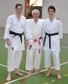 Nicolas Astier, J-L.Schroll et Tom Lemarchand