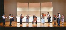 A-durバイオリン・チェロ教室 発表会 アンサンブル 子供