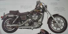 Moto Harley-Davidson FXDL 1995