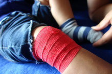 LisaCare als Knieverband bei Kindern