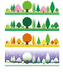 生まれ持った季節と運勢の季節変化