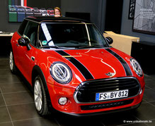 Mini Cooper, Blazing Red Metallic II, Abholung