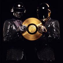 Daft Punk et son disque d'or