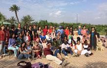 le groupe de CNV réuni au Maroc