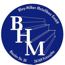 Bley Hilker Metallbau GmbH Logo